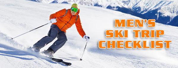 Men's Ski Trip Checklist