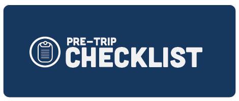 Winter Pre-Trip Checklist