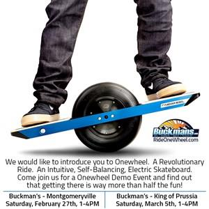Buckmans is Onewheels exclusive Philadelphia Retailer