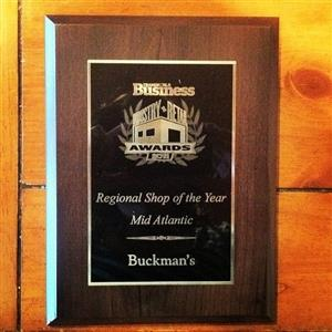 BUCKMANS NAMED TWB RETAILER OF THE YEAR