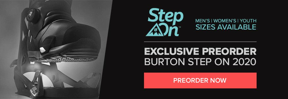 2020 Burton Step On Boots and Bindings