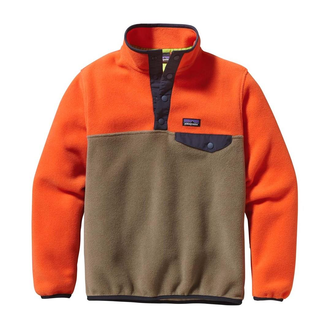 682efa4ae5f Patagonia Lightweight Synchilla Snap T Pullover Boys. Loading zoom