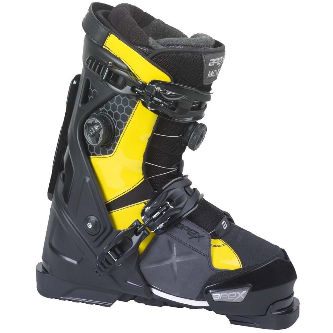apex mc x ski boot system s buckmans
