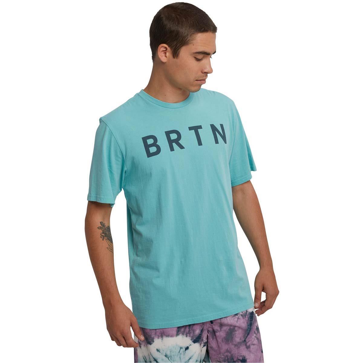 Burton Mens 100/% Organic Cotton Durable Goods Short Sleeve Tee