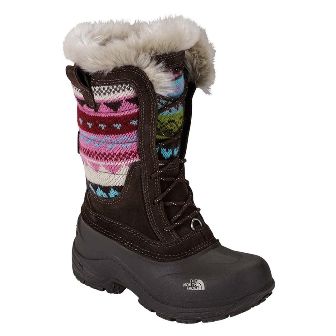 72a3ea361 The North Face Shellista Lace Novelty Midweight Boots - Girl's