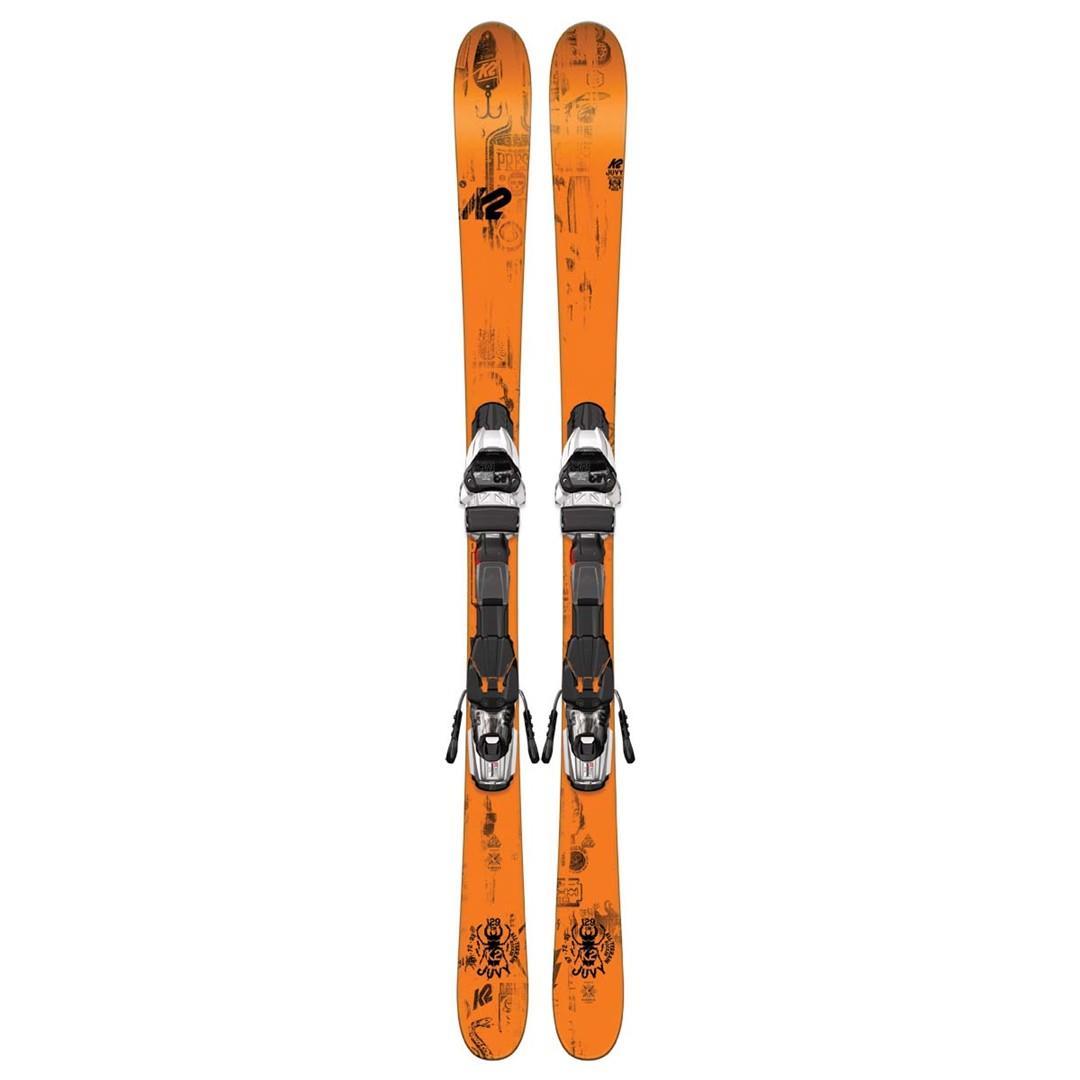 K2 Juvy Skis With Marker Fastrak2 4.5 Bindings