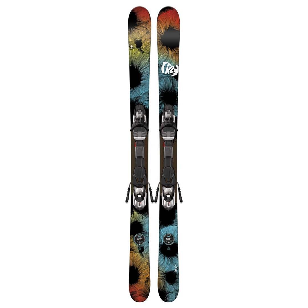 K2 Missy Skis With Marker Fastrak2 4.5 Bindings