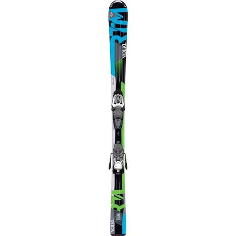 Volkl RTM Junior Skis with Marker Junior 3Motion Bindings Youth