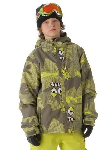 686 Camotooth Insulated Jacket Boys