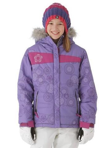 686 Mannual Gidget Puffy Jacket Girls