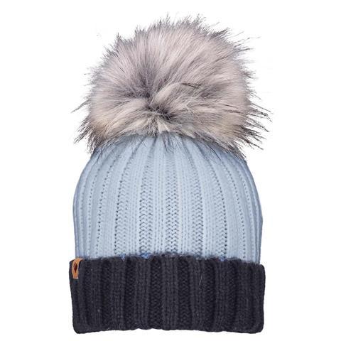 Obermeyer Denver Faux Fur Pom Hat Womens