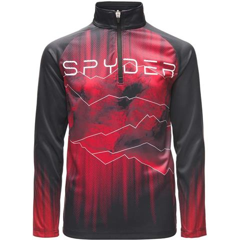 Spyder Limitless Rising Zip T Neck Boys