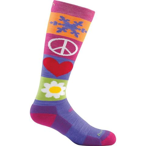 Darn Tough Peace Love Snow Jr. Socks Youth