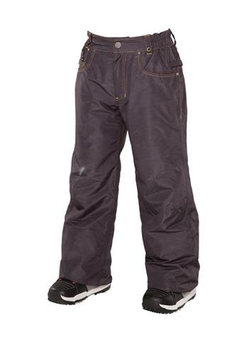 686 Destructed Denim Insulated Pant Boys