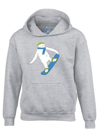 Zemu Apparel Snowboarder Hoodie - Youth
