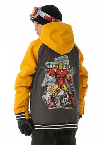 Burton Game Day Iron Man Jacket - Boy's