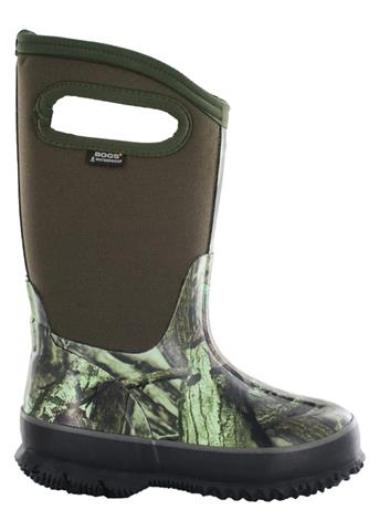 Bogs Classic Camo Mossy Oak Boots Youth