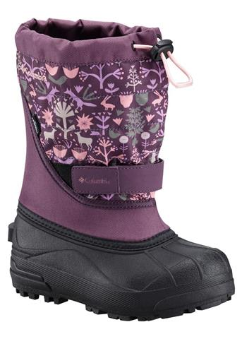 Columbia Powderbug Plus II Print Boot - Youth