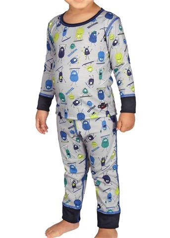 Hot Chillys Toddler Mid Weight Print Set Youth