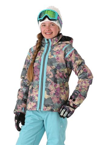 Obermeyer Taja Print Jacket - Girl's