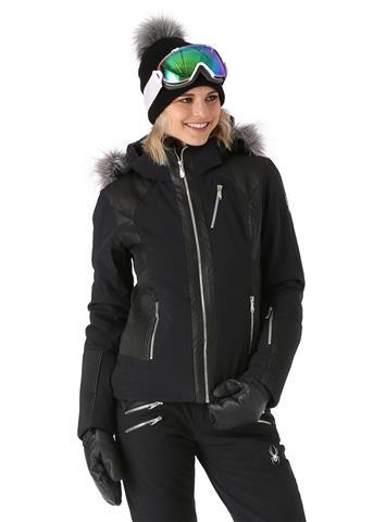 Spyder Amour Faux Fur Jacket Womens