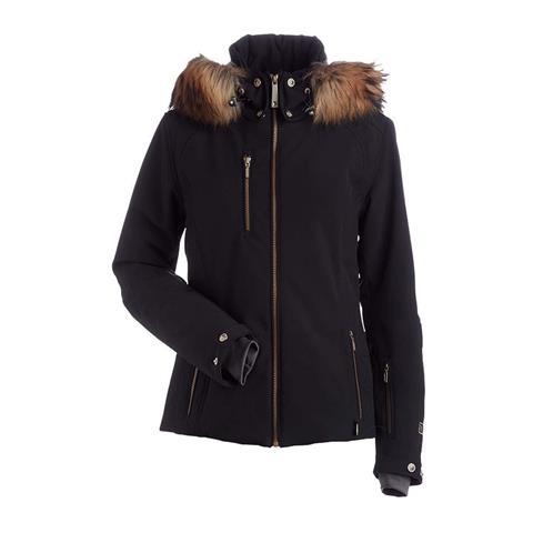 Nils Josie Real Fur Jacket Womens