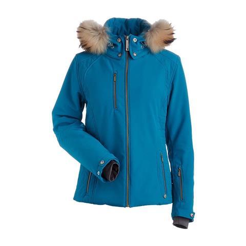 Nils Josephine Real Fur Jacket Womens