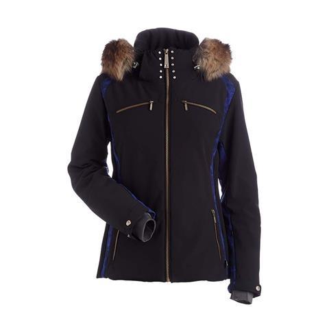 Nils Kari Real Fur Jacket Womens