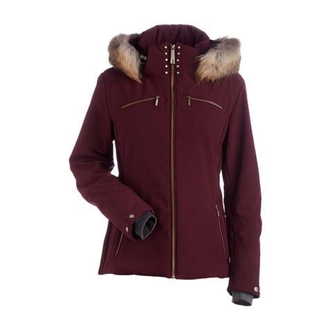 Nils Karen Real Fur Jacket Womens