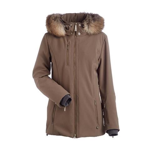 Nils Maribel Real Fur Jacket Womens