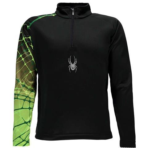Spyder Linear Web Dry Web T Neck Boys