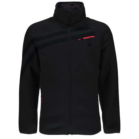 Spyder Wengen Full Zip Mid Weight Core Sweater Mens