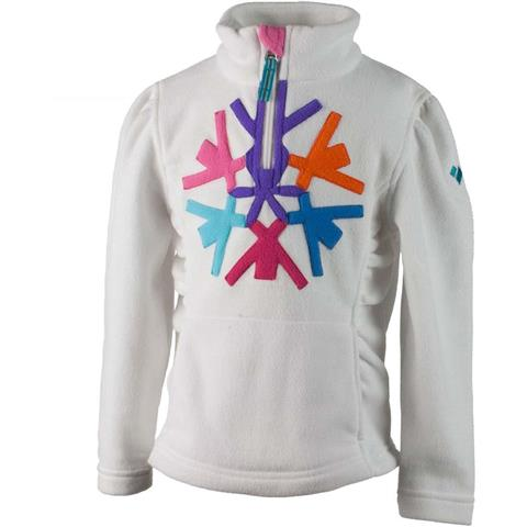 Obermeyer Snowcrystal Fleece Top Girls