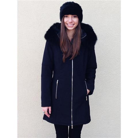 M. Miller Astrid with Black fox Jacket Womens
