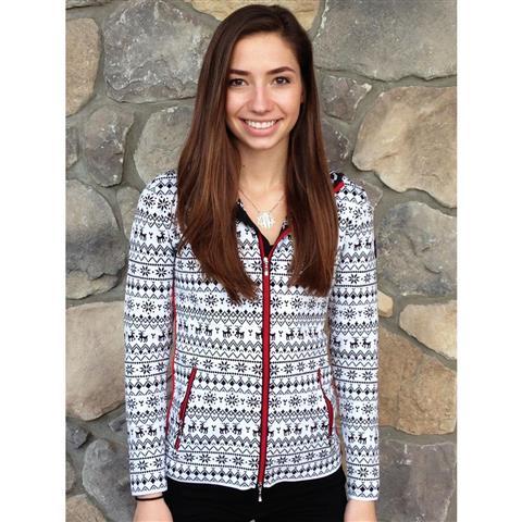 Newland Norwegian Allover Design Sweater Womens