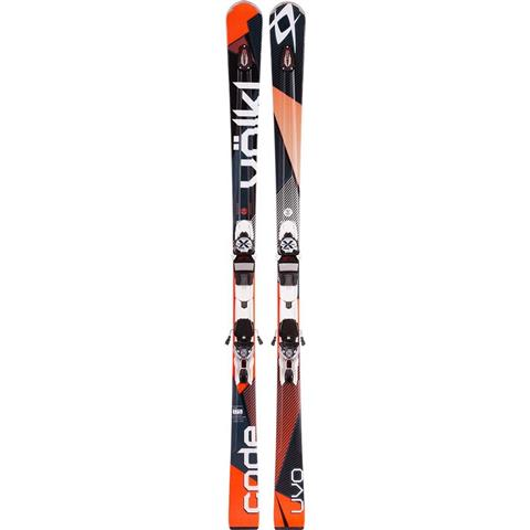 Volkl Code Uvo Skis with Marker xMotion 11.0 D Bindings Mens
