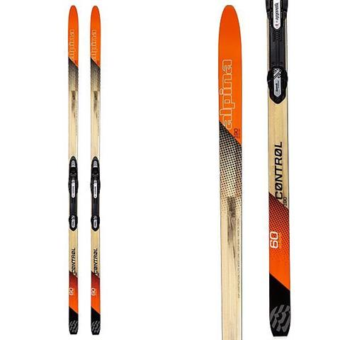 Alpina Control 60 Cross Country Skis with NIS Auto Tour Bindings
