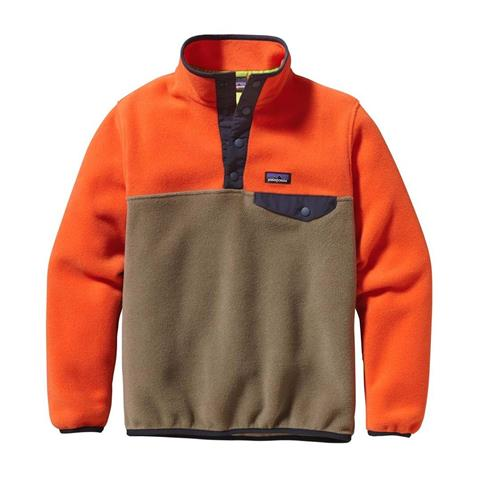 Patagonia Lightweight Synchilla Snap T Pullover Boys