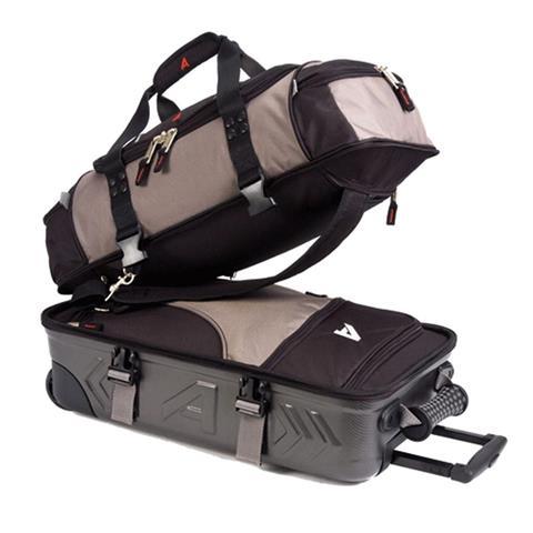 Athalon Platinum Molded Wheeling Carry On Duffle Bag