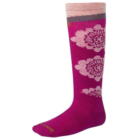 Smartwool Wintersport Floral Socks Youth