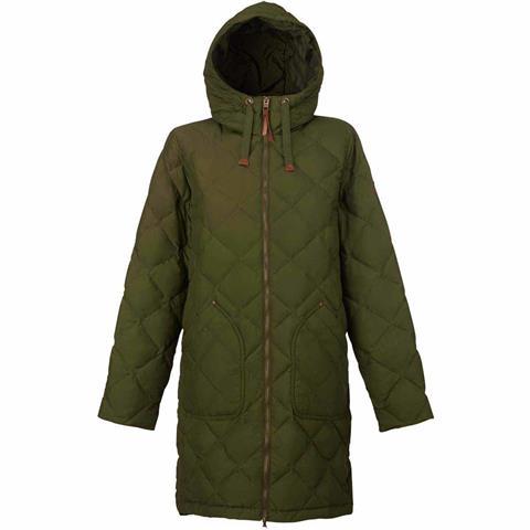 Burton Bixby Long Down Jacket Womens