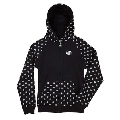 686 Flake Zip Hoody Girls
