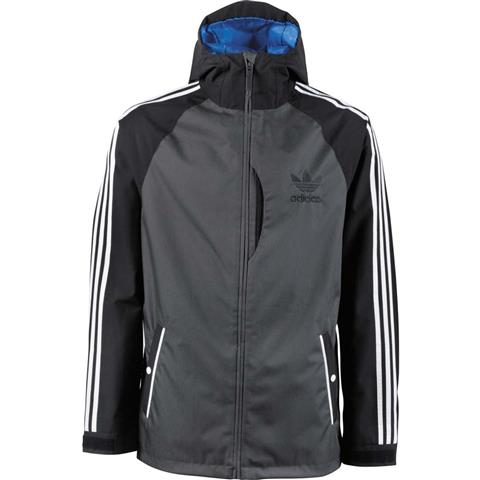 Adidas 3 Stripe Jacket Mens