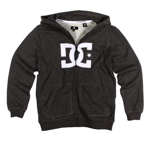 DC Crosley Premium Full Zip Fleece Hoody Boys