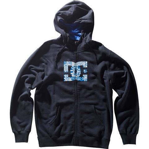 DC MLF Star Zip Hoodie Mens