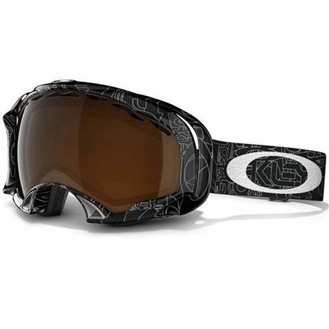 Oakley Splice Goggles / Silver Factory Text
