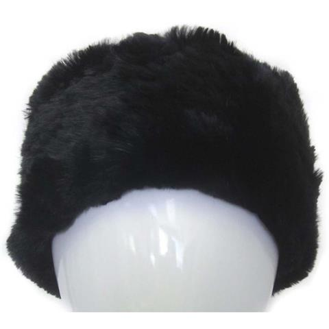 Mitchies Matchings Rabbit Fur Headband Womens