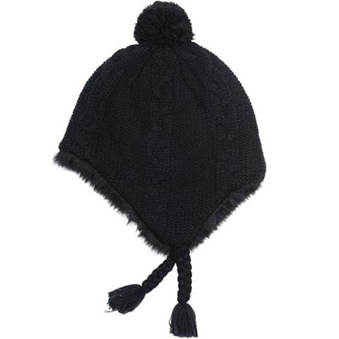 Neff Little P Earflap Beanie Womens