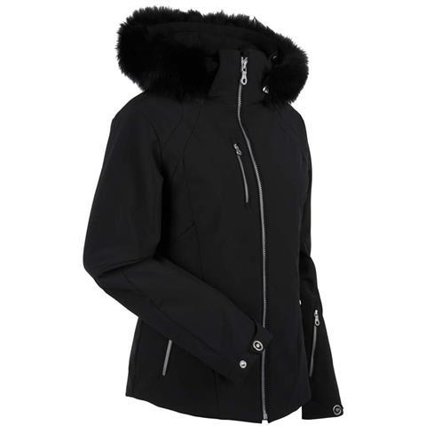 Nils Andrea Real Fur Jacket Womens
