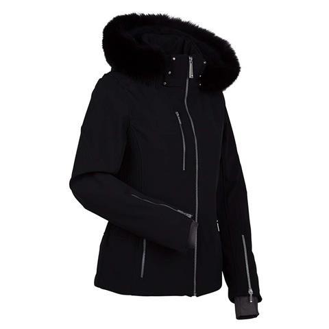 Nils Hannalee Real Fur Jacket Petite Womens